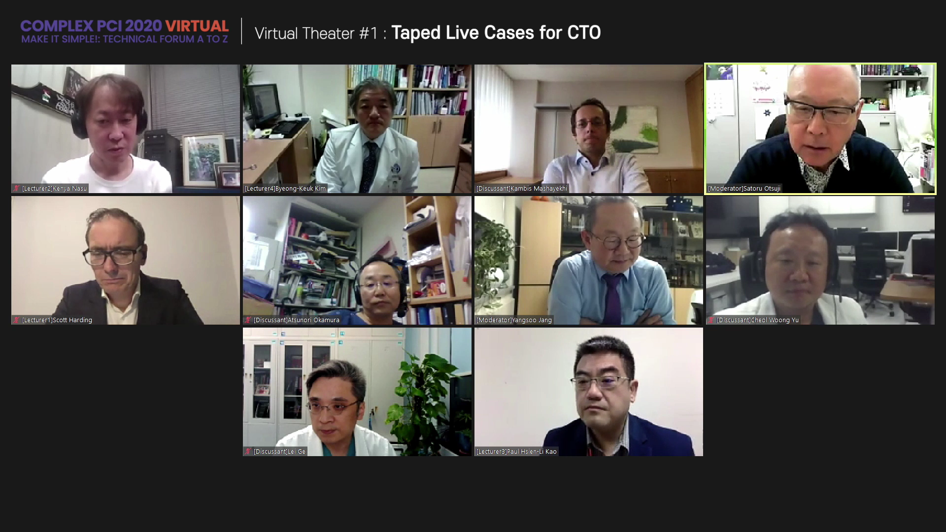 Virtual Theater #1: Taped Live Cases for CTO
