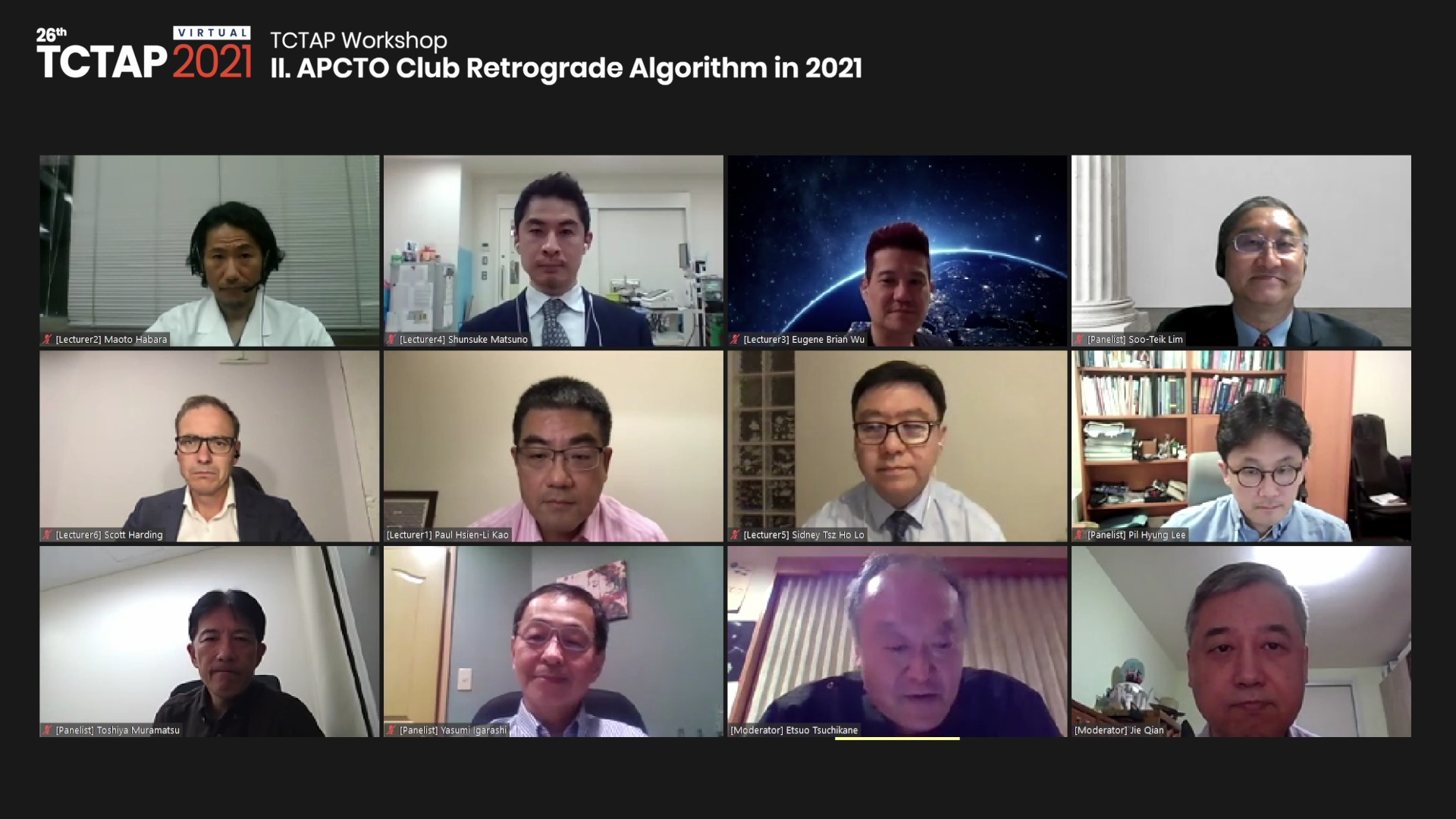 [TCTAP 2021 Virtual] TCTAP Workshop - II. APCTO Club Retrograde Algorithm in 2021