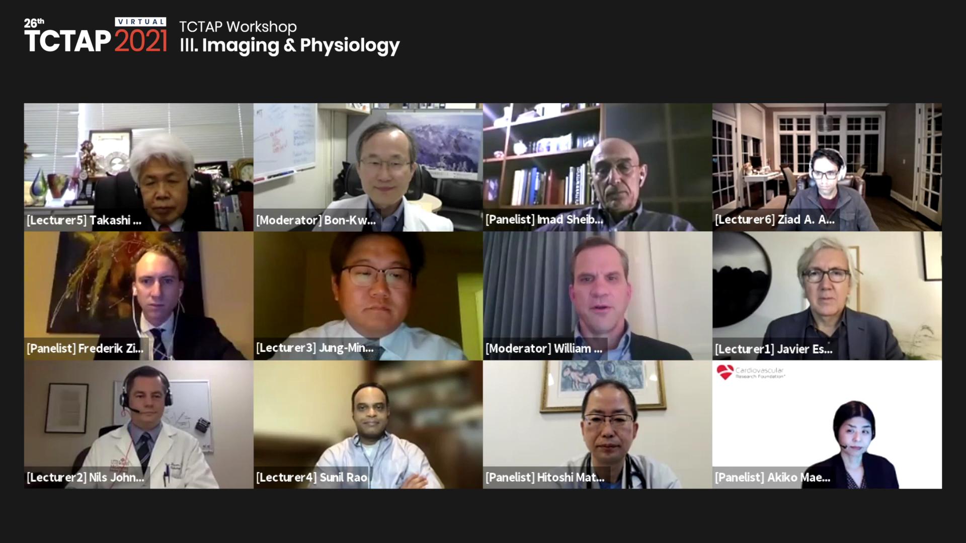 [TCTAP 2021 Virtual] TCTAP Workshop - Ⅲ. Imaging & Physiology