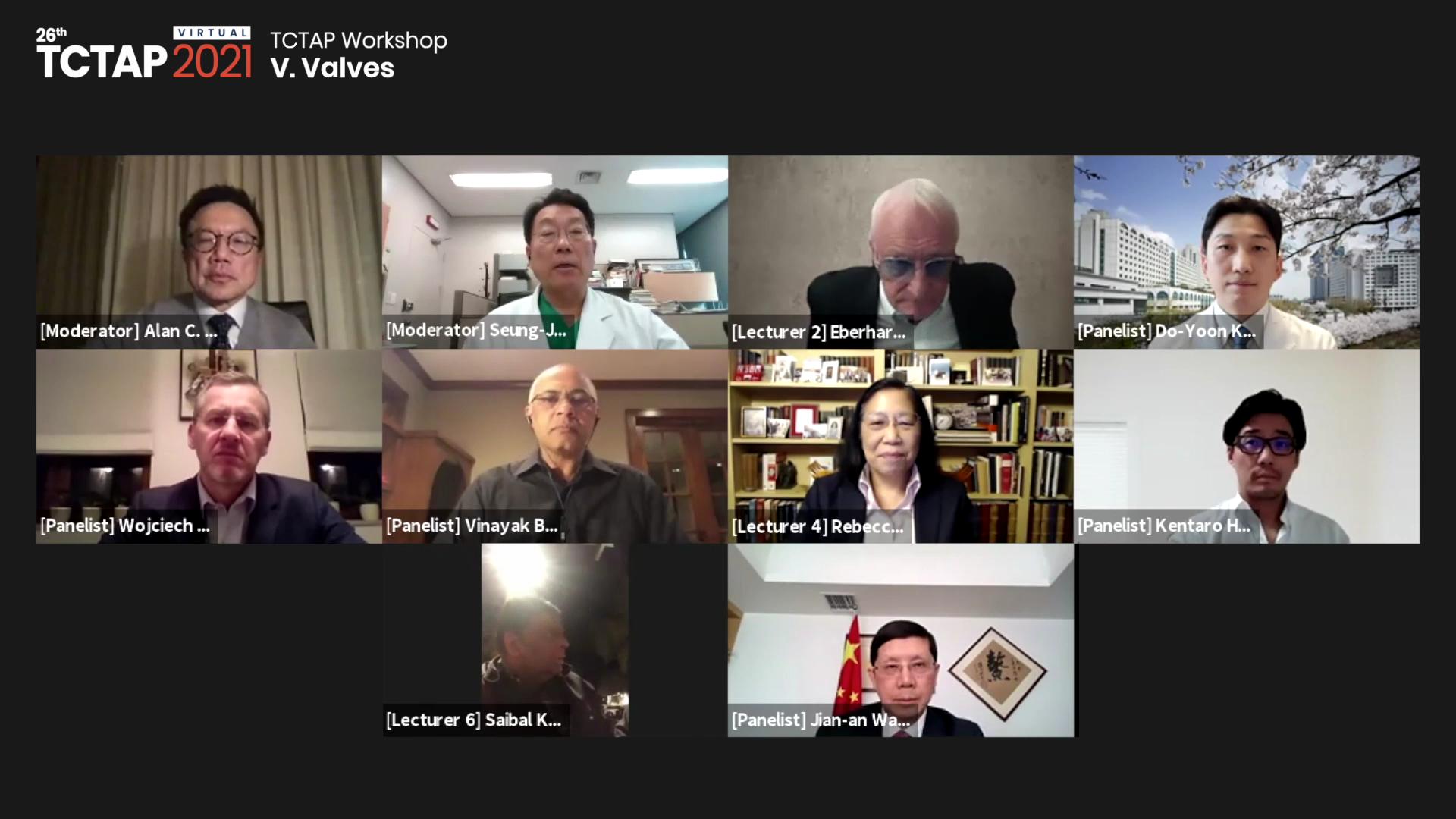 [TCTAP 2021 Virtual] TCTAP Workshop - V. Valves