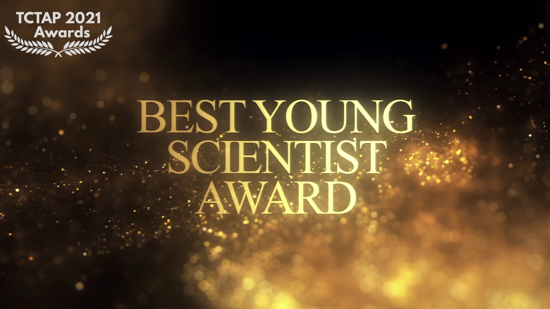 TCTAP Award 2021 - Best Young Scientific Award