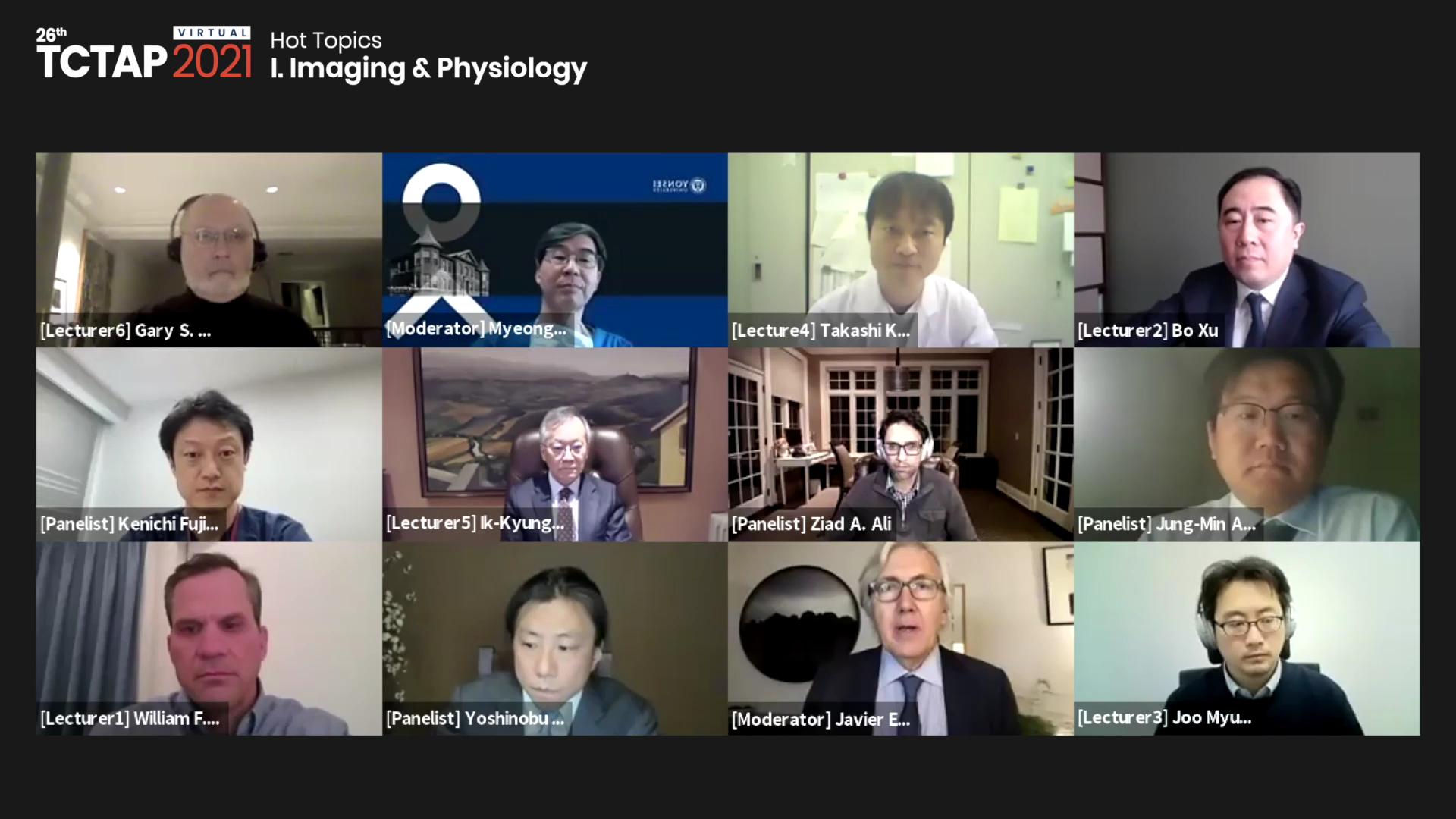 [TCTAP 2021 Virtual] Hot Topics - I. Imaging & Physiology