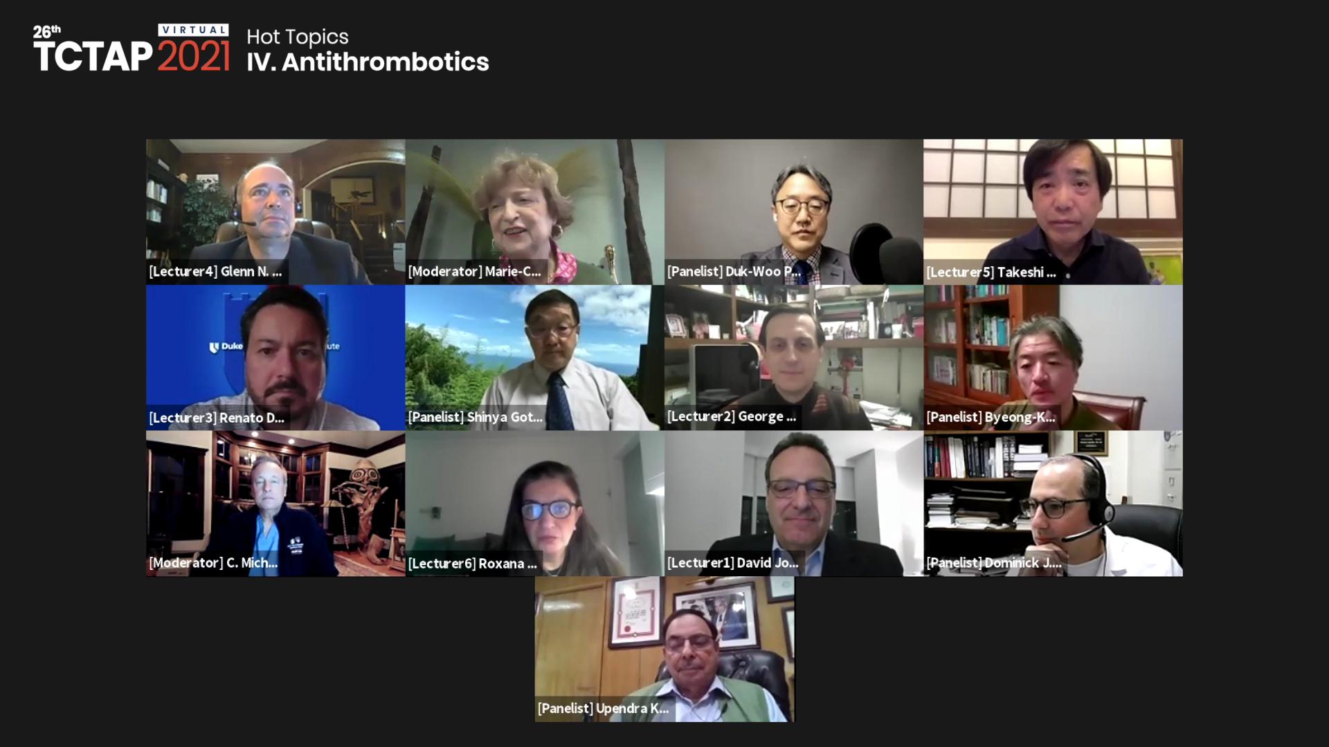 [TCTAP 2021 Virtual] Hot Topics - IV. Antithrombotics