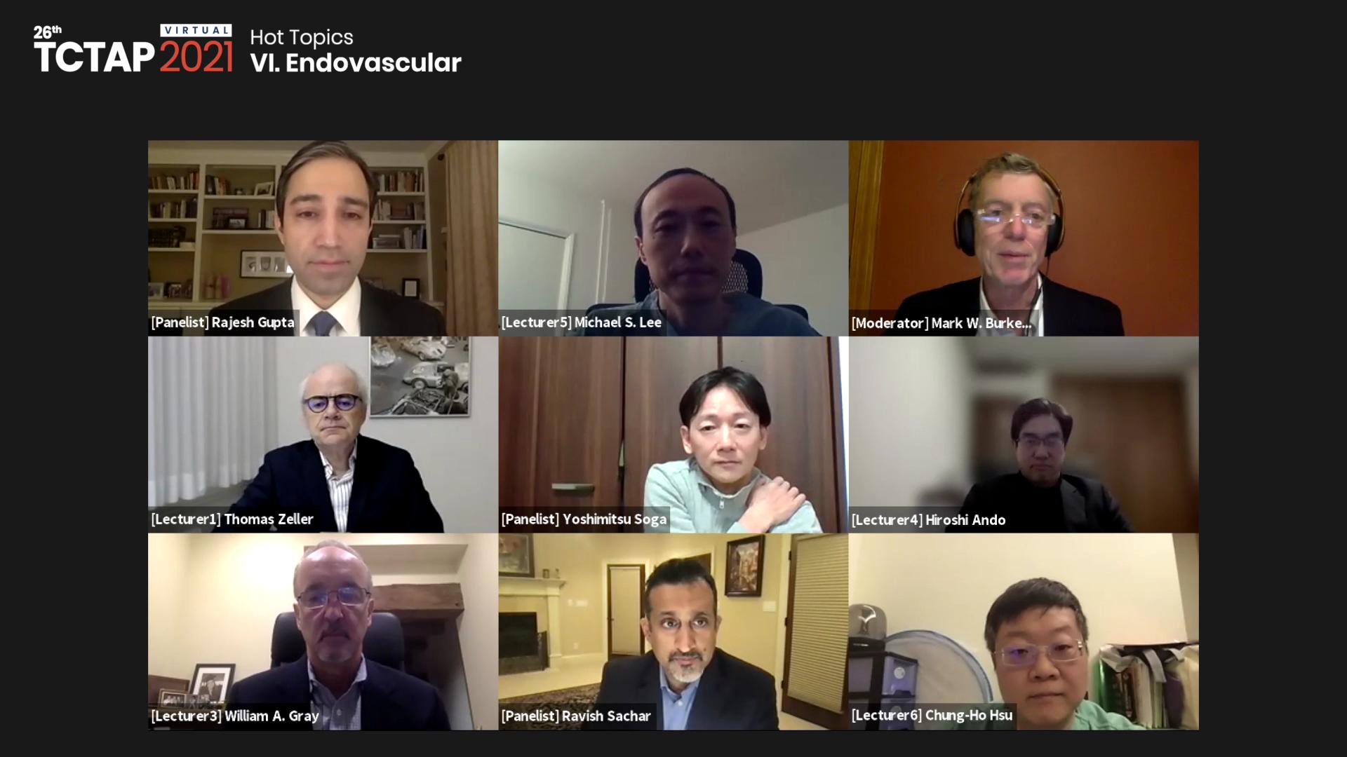 [TCTAP 2021 Virtual] Hot Topics - VI. Endovascular