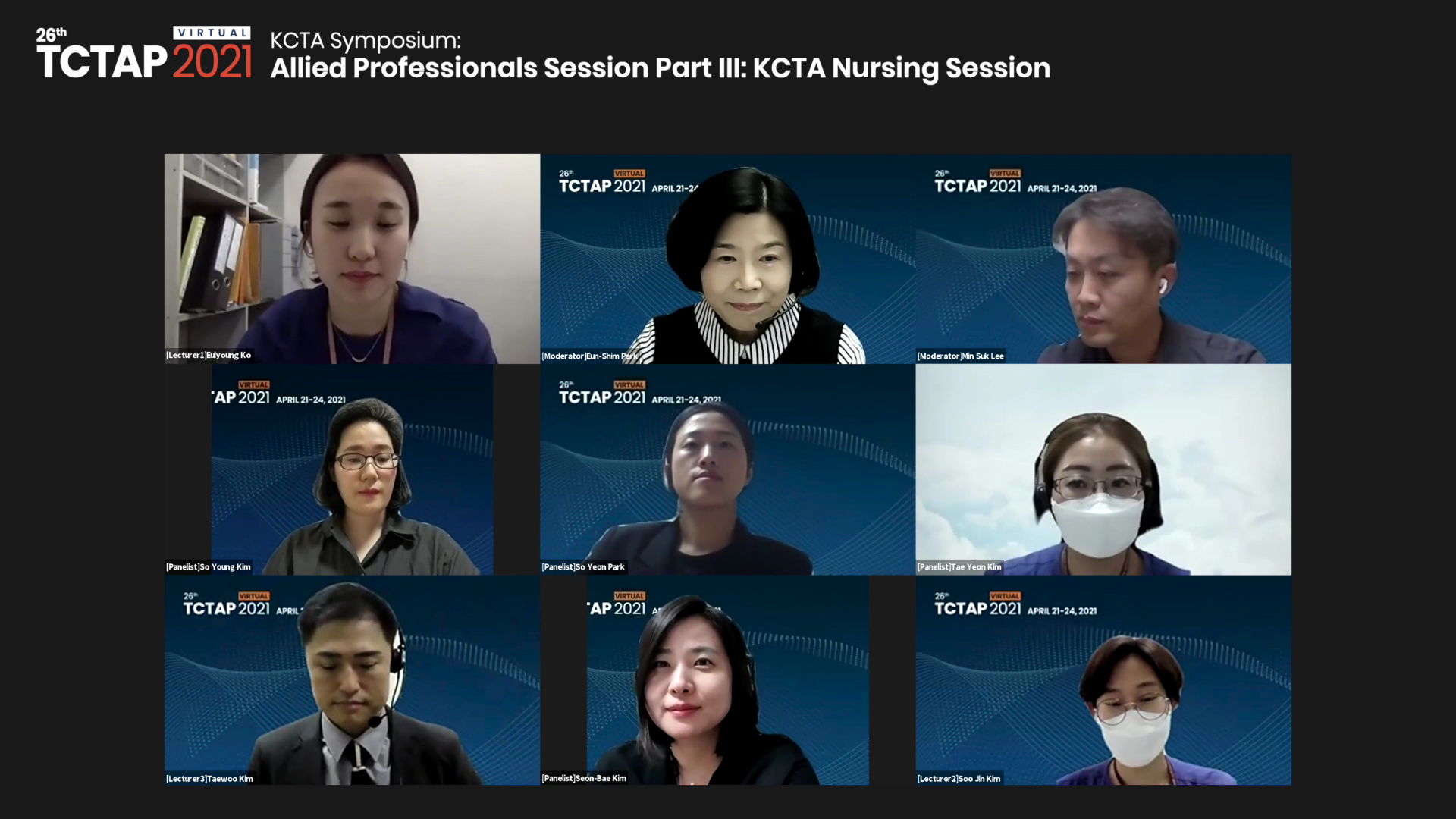 KCTA Symposium: Allied Professionals Session - Part III: KCTA Nursing Session