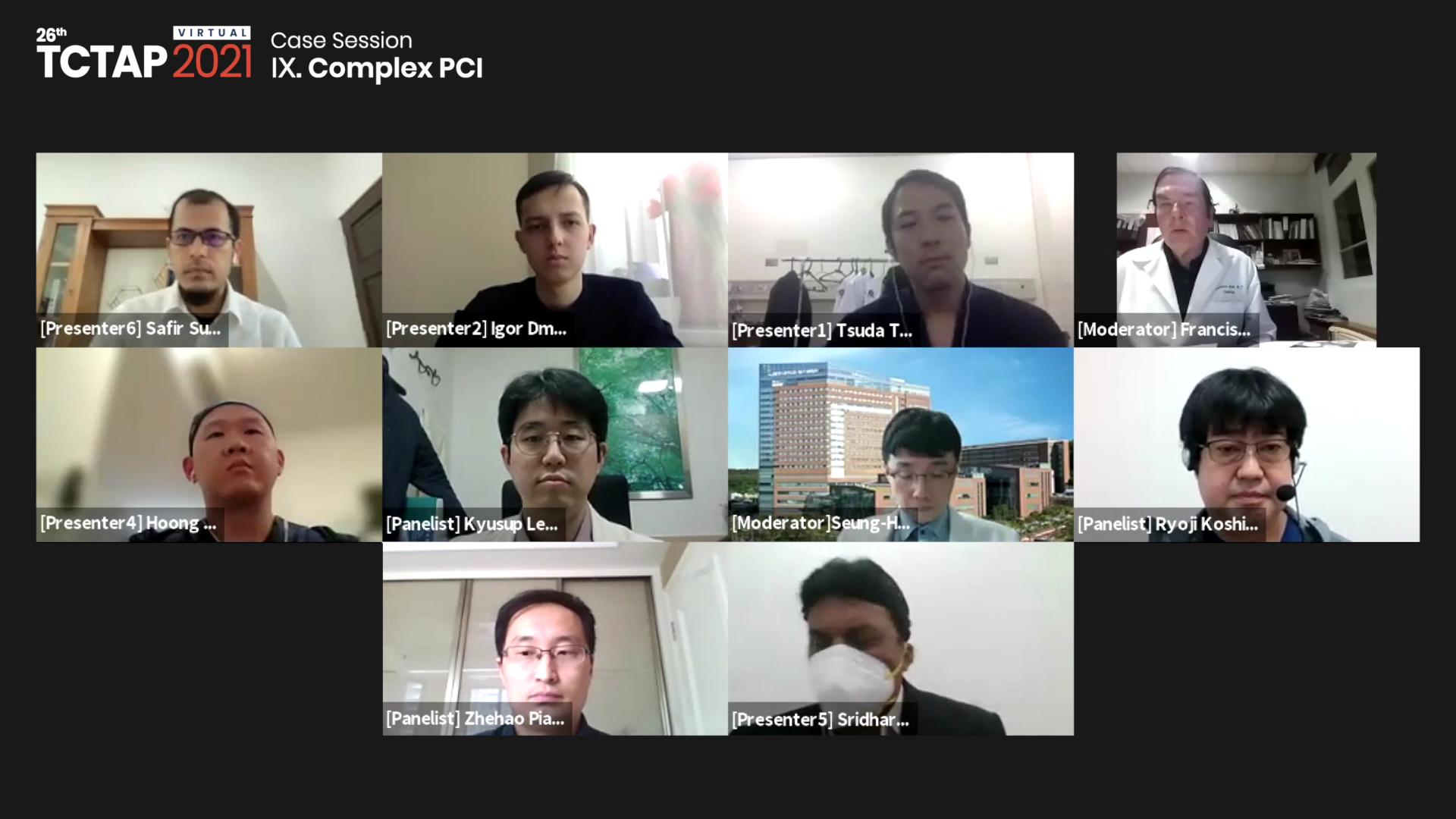 [TCTAP 2021 Virtual] Case Session - Ⅸ. Complex PCI