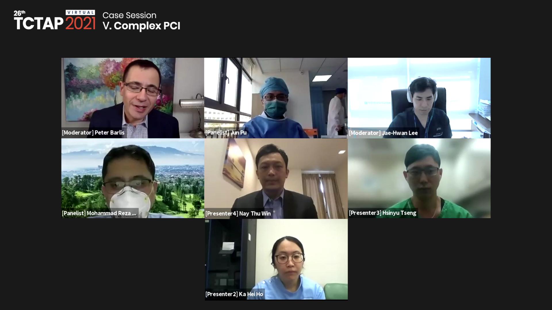 [TCTAP 2021 Virtual] Case Session -Ⅴ. Complex PCI