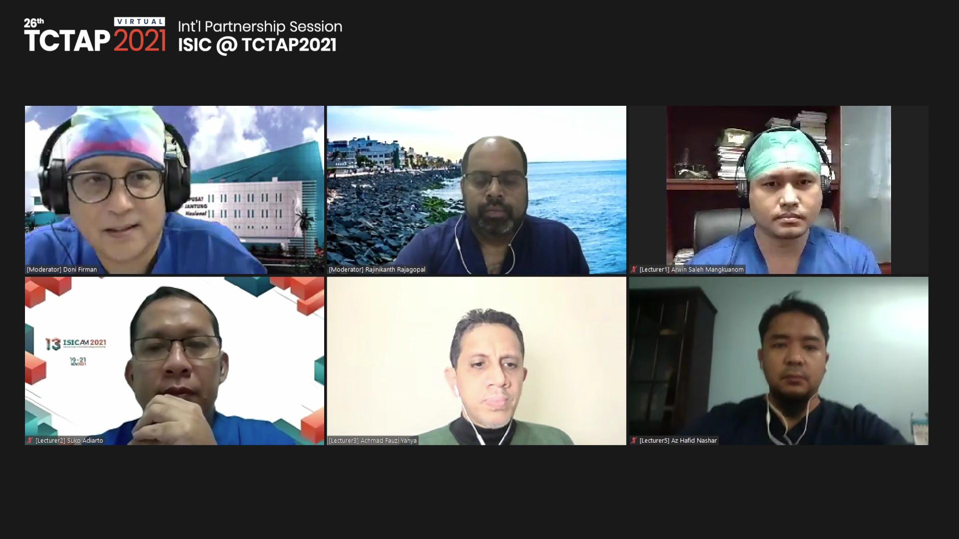 [TCTAP 2021 Virtual] Int'l Partnership Session - ISIC @ TCTAP2021