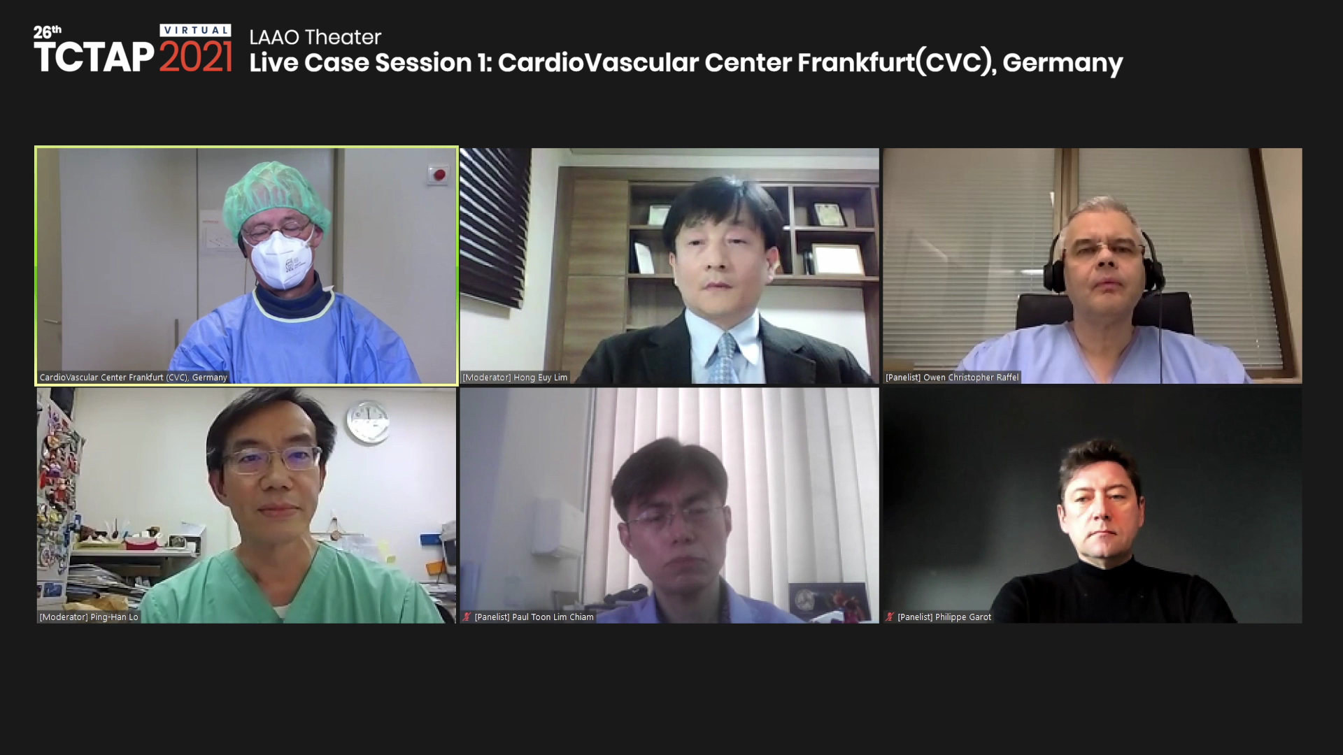 [TCTAP 2021 Virtual] LAAO Theater - Live Case Session 1