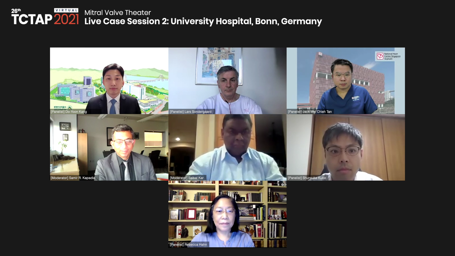 [TCTAP 2021 Virtual] Mitral Valve Theater - Live Case Session 2