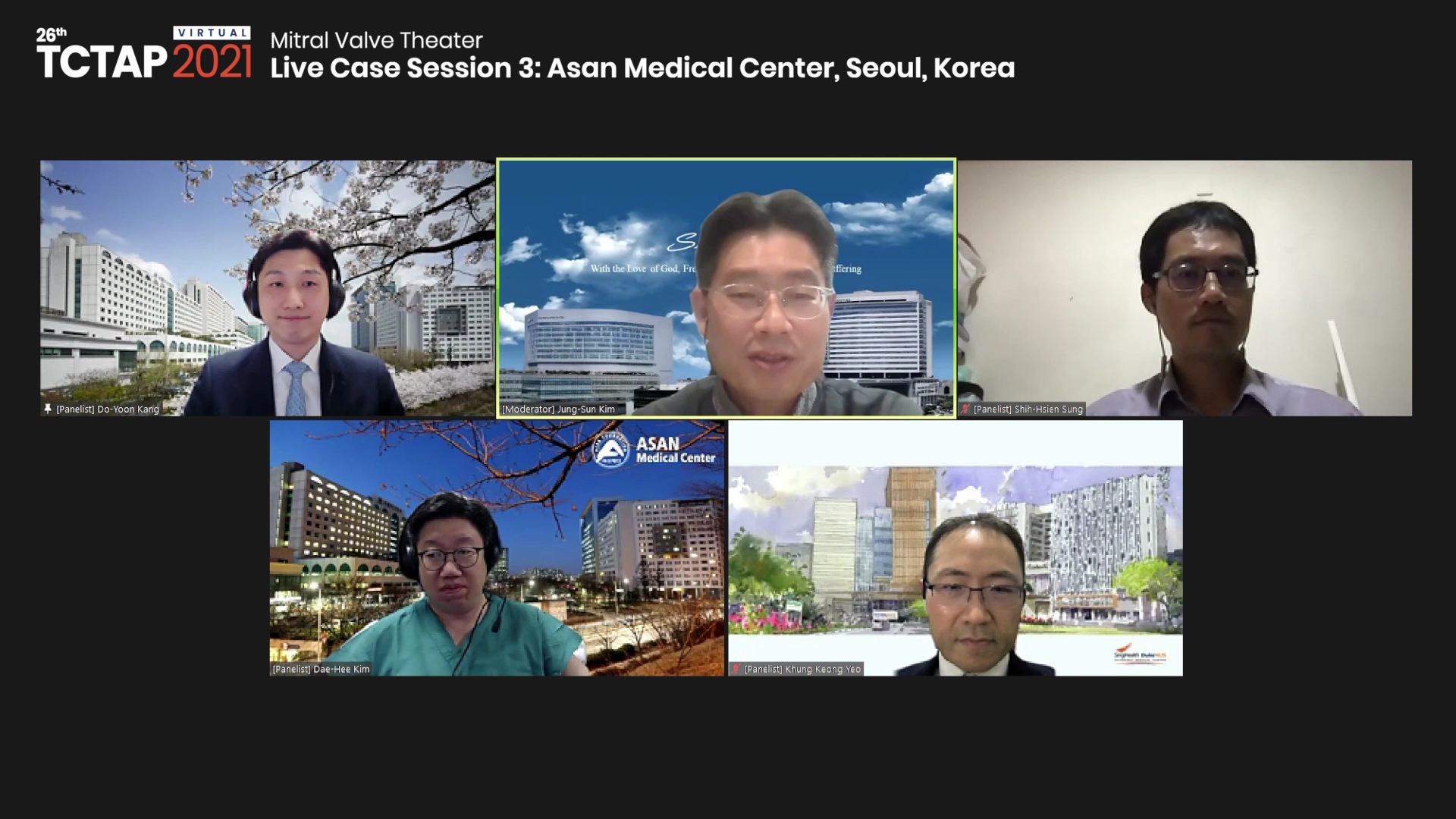 [TCTAP 2021 Virtual] Mitral Valve Theater - Live Case Session 3