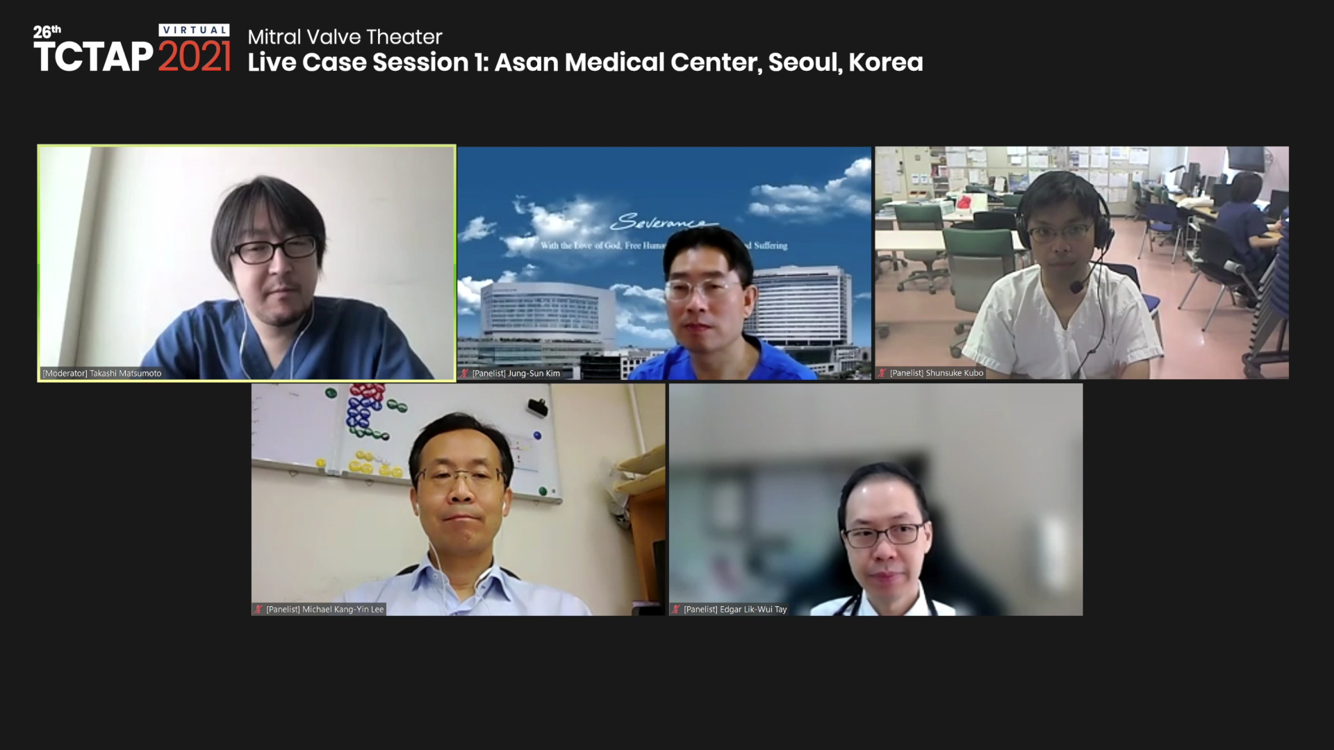 [TCTAP 2021 Virtual] Mitral Valve Theater - Live Case Session 1