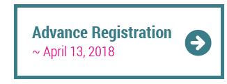 Advance Registration ~ April 13, 2018