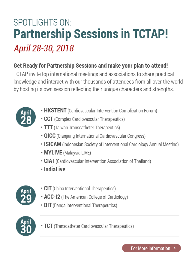 SPOTLIGHTS ON: Partnership Sessions in TCTAP!
