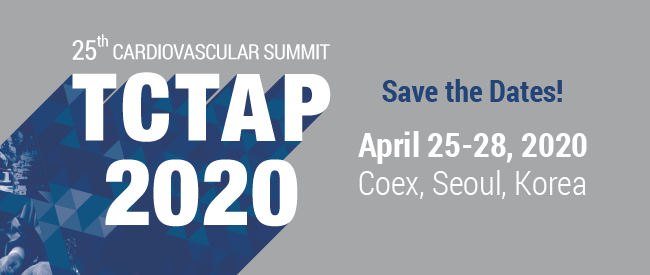 Save the Dates! 25th TCTAP 2020 - April 25~28, 2020