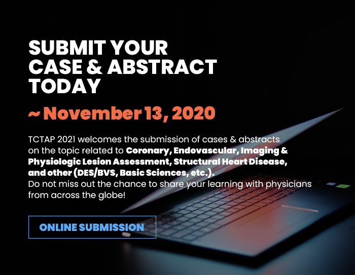 SUBMIT YOUR CASE & ABSTRACT TODAY ~ November 13, 2020