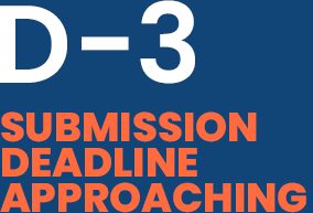 SUBMISSION DEADLINE APPROACHING