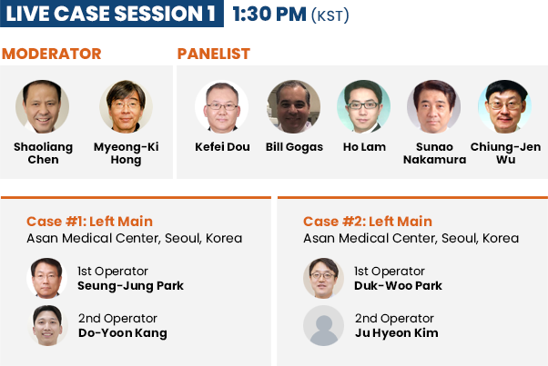 Live Case Session 1 - 1: 30 PM (KST)