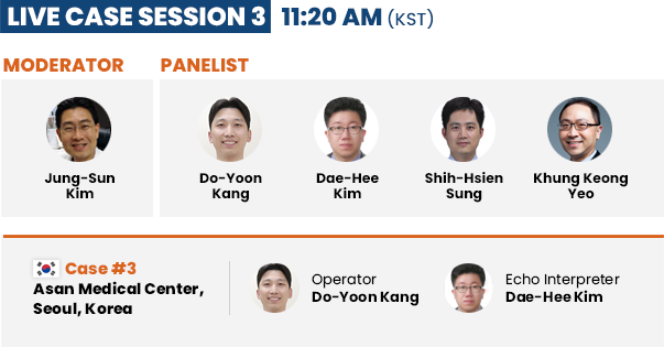 Live Case Session 3 - 11: 20 PM (KST)