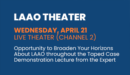 LAAO Theater - Wednesday, April 21 / Live Theater (Channel 2)