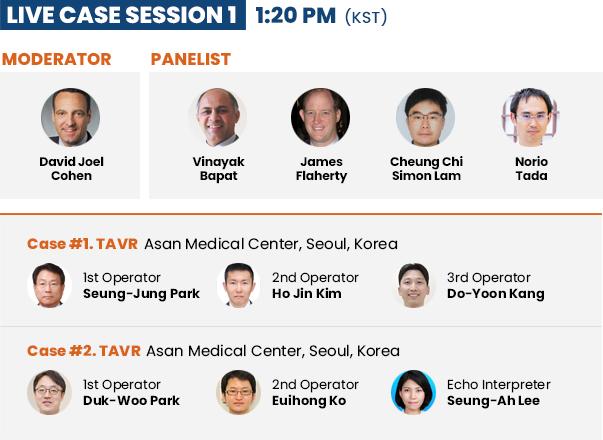 Live Case Session 1 - 1:20 PM (KST)