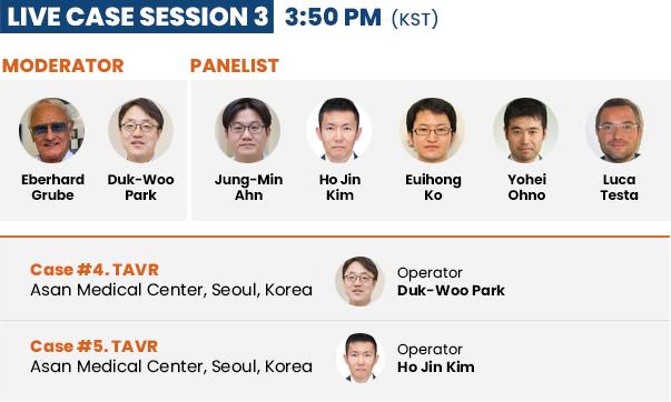 Live Case Session 3 - 3:50 PM (KST)