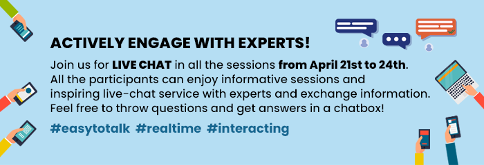 ACTIVELY ENGAGE WITH EXPERTS!