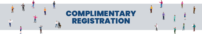 COMPLIMENTARY REGISTRATION