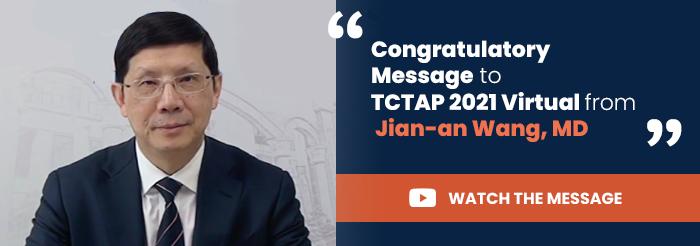 Congratulatory Message to TCTAP 2021 Virtual