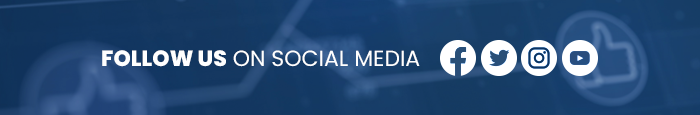 FOLLOW US NOW ON SOCIAL MEDIA