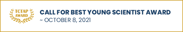 CALL FOR BEST YOUNG SCIENTIST AWARD ~ October 8, 2021