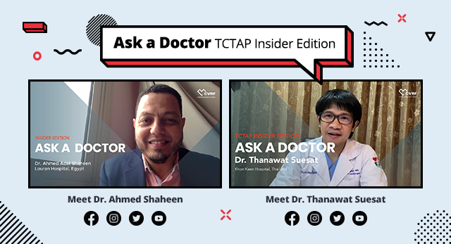 Ask a Doctor - TCTAP Insider Edition